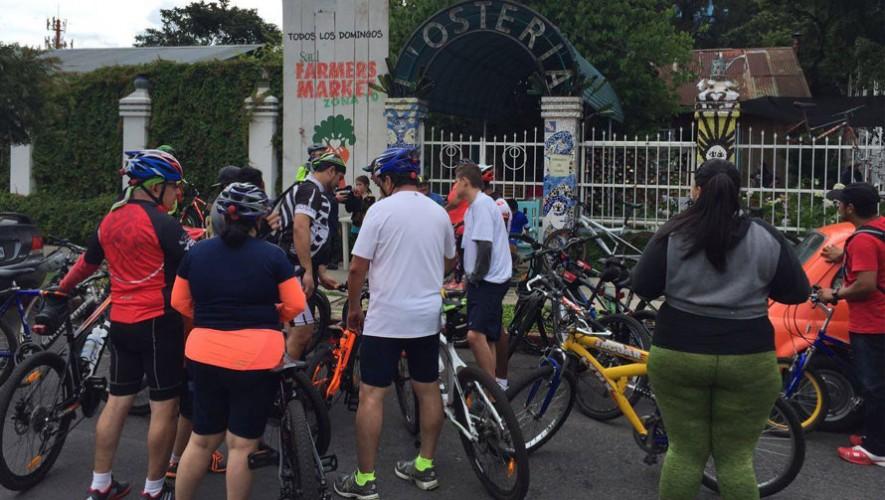 Expocicle: Colazo urbano en bicicleta | Julio 2016