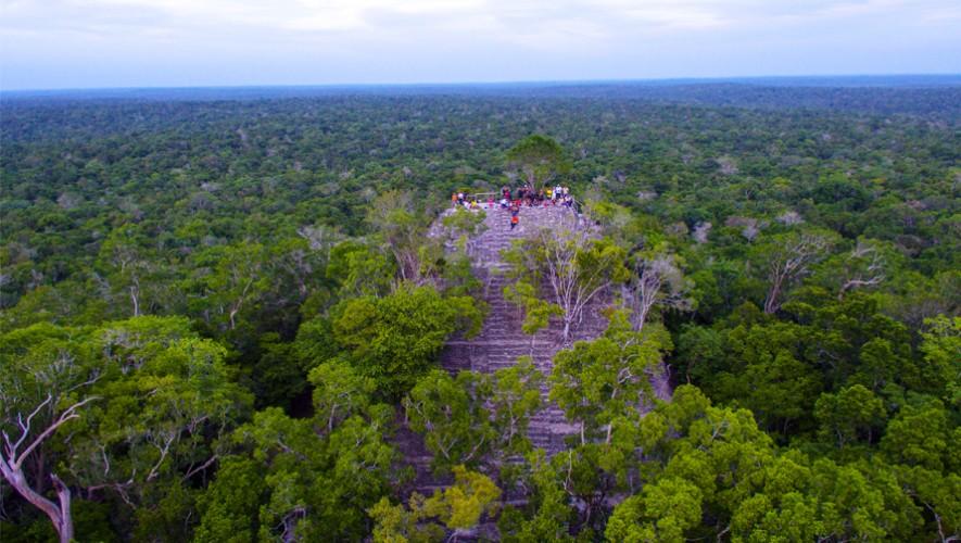 Toma aérea de La Danta en El Mirador. (Foto: Guatemala.com)