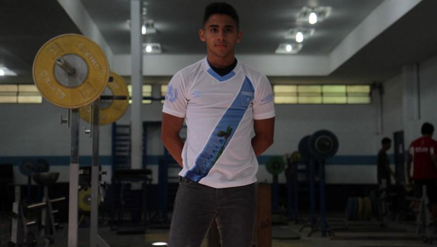 Edga Pineda, atleta guatemalteco