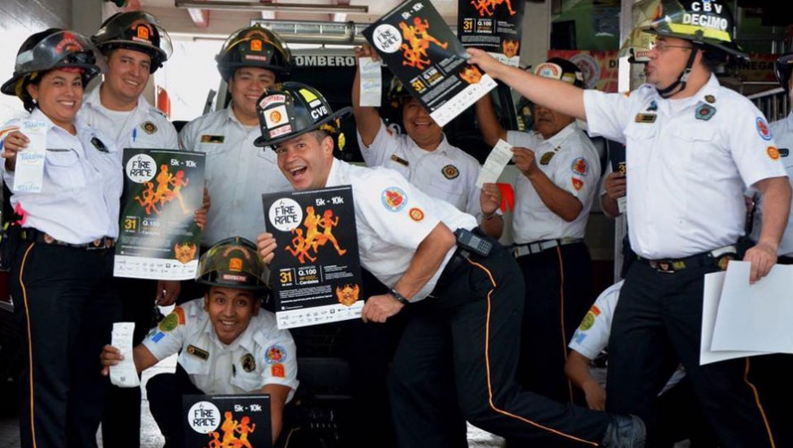 Fire Race a beneficio de los Bomberos Voluntarios| Julio 2016