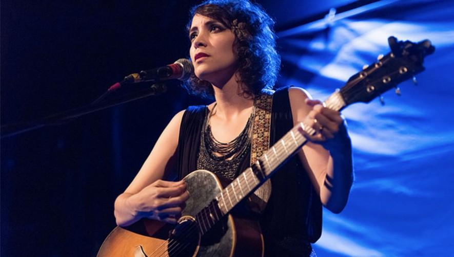 La cantante guatemalteca Gaby Moreno dedica canción a los guatemaltecos. (Foto: Steven Pisano)