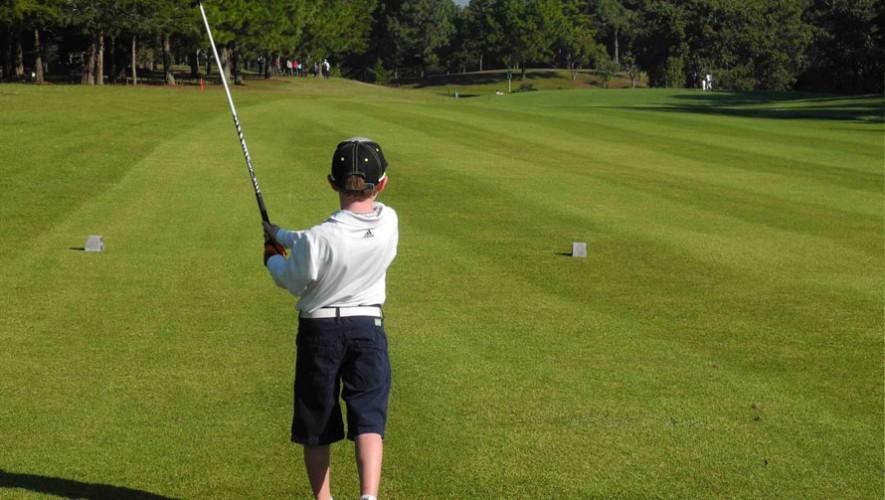 Golfistas guatemaltecos