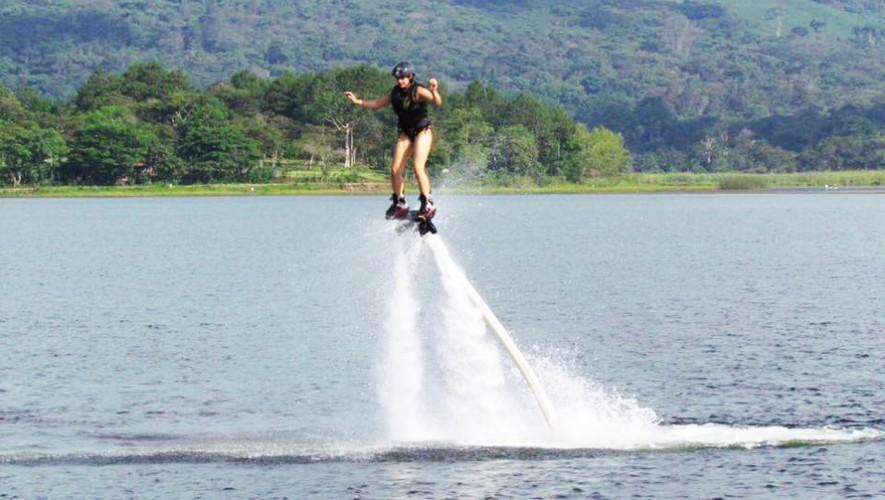 Practica Jetboarding en Guatemala, a tan solo 30 minutos de Carretera a El Salvador. (Foto: Jetboard Guatemala)