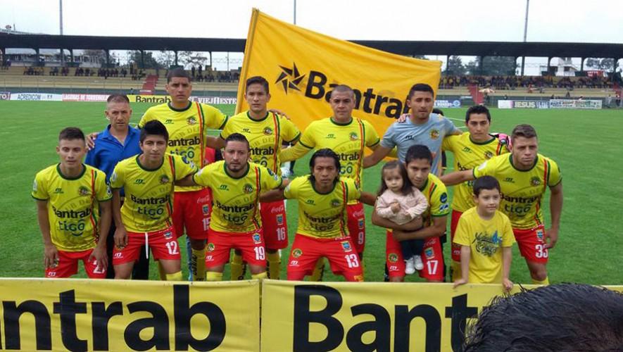 Partido de Marquense vs Guastatoya, por el Torneo Apertura   Julio 2016