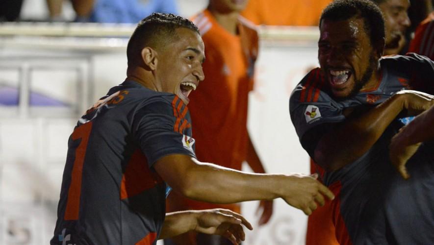 El mundialista sub-20 hizo su primer gol con su nuevo equipo. (Foto: Carolina Rail Hawks)