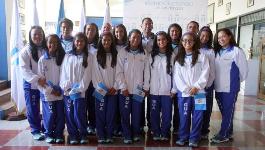 Nado sincronizado de Guatemala