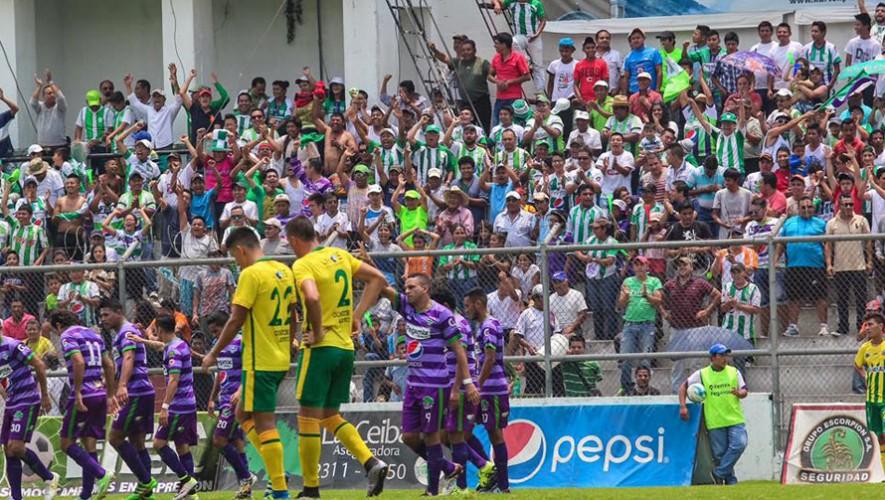 Partido de Antigua vs Guastatoya, Torneo Apertura | Julio 2016