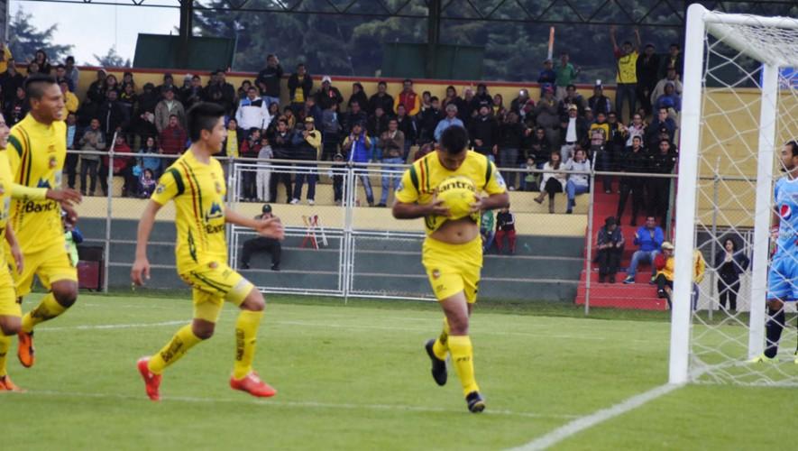Partido de Marquense vs Antigua, por el Torneo Apertura | Julio 2016