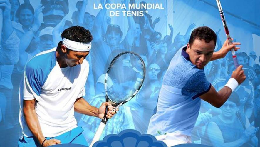 Partidos de tenis Guatemala vs Uruguay, por la Copa Davis   Julio 2016