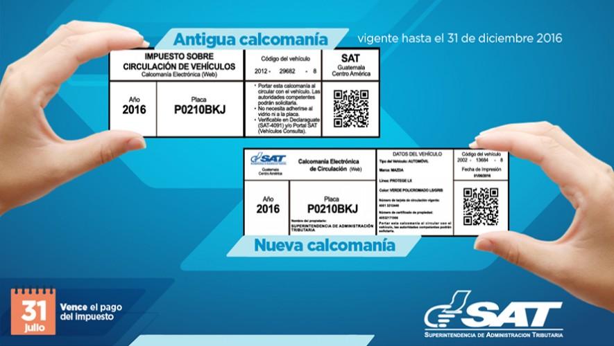 Conoce cómo pagar el impuesto de circulación de la SAT. (Foto: SAT Guatemala)