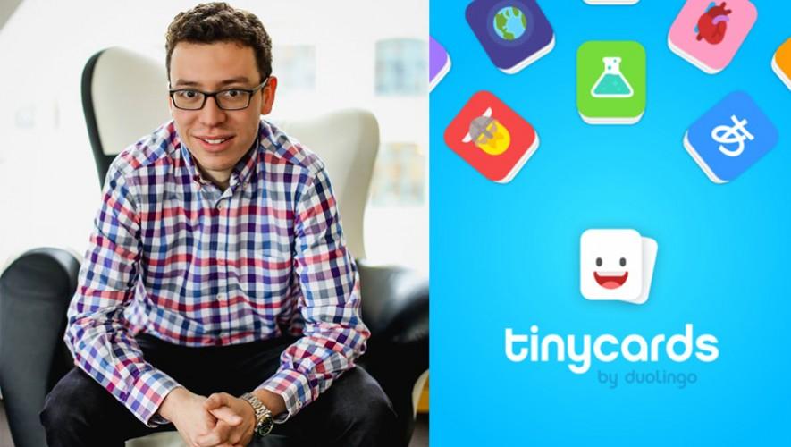 El guatemalteco Luis von Ahn junto al equipo de Duolingo crearon Tinycards. (Foto: Luis von Ahn)