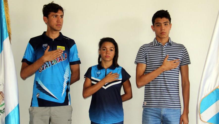 Triatletas de Guatemala