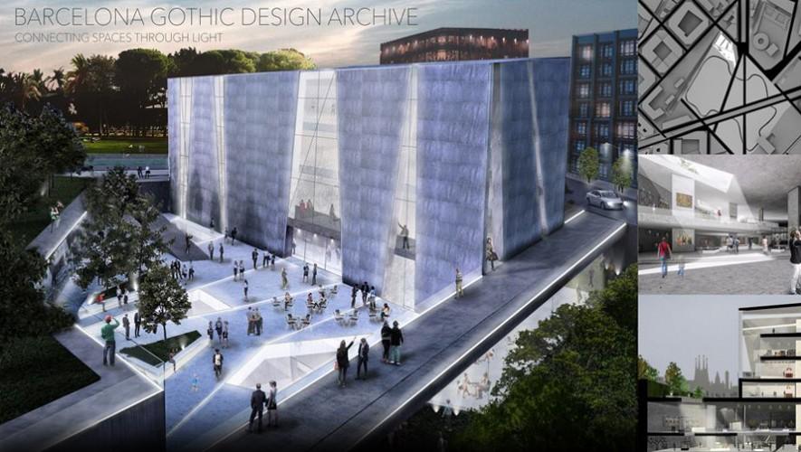 El diseño ganador creado por cuatro jóvenes guatemaltecos. (Foto: Arquitectum)