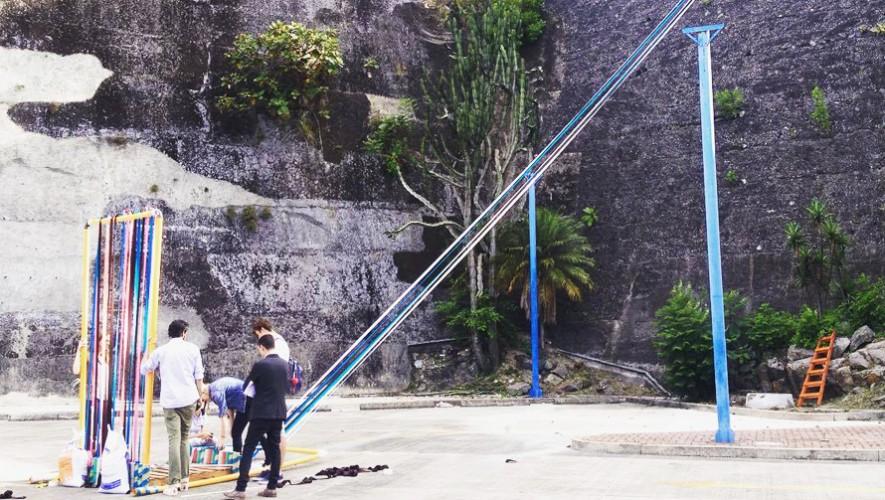 Descubre un nuevo mundo sensorial en el parque artístico del Centro Cultural Miguel Ángel Asturias. (Foto: PlayAchomo)