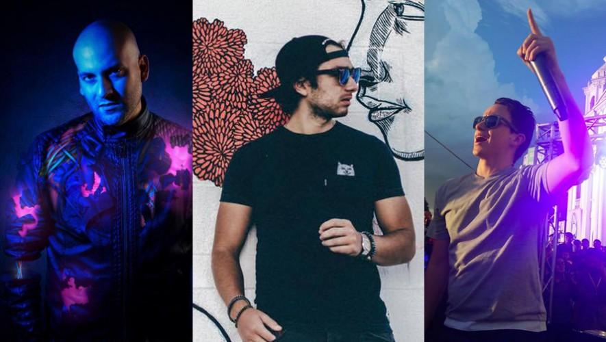 DJ's guatemaltecos tienen oportunidad de ingresar al Top 100 de DJ Mag 2016 (Foto: Ale Q / Carl Nunes / Francis Davila)