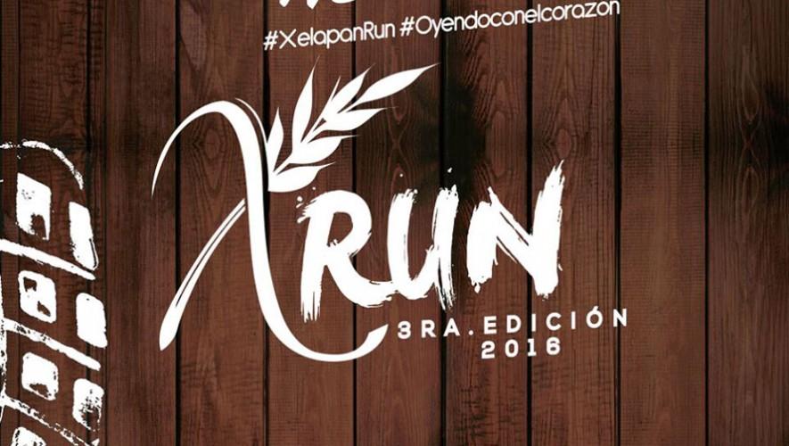 Carrera Xelapan Run de Quetzaltenango| Julio 2016
