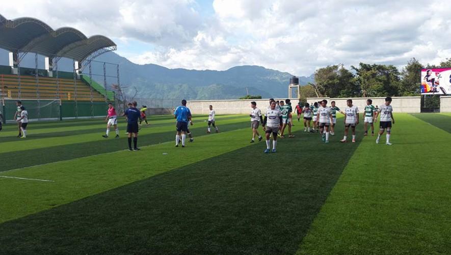 San Pedro tuvo la dicha de ser la sede para los partidos. (Foto: Asociación Guatemalteca de Rugby)