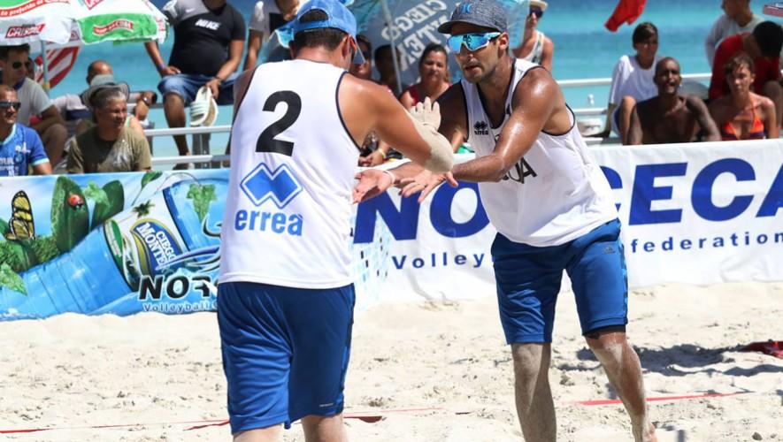 Equipo de voleibol de playa Guatemala