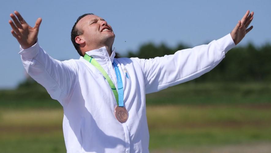 Fernando suma 1 medalla panamericana en su palmares. (Foto: Comité Olímpico Guatemala)