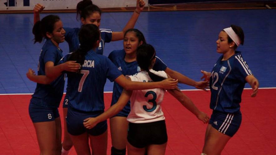 Partido de Guatemala vs Belice, por la Copa Centroamericana de voleibol | Agosto 2016