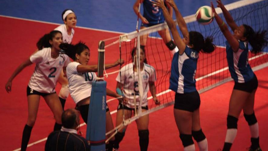 Partido de Guatemala vs El Salvador, por la Copa Centroamericana Sub-23 de voleibol femenino | Agosto 2016