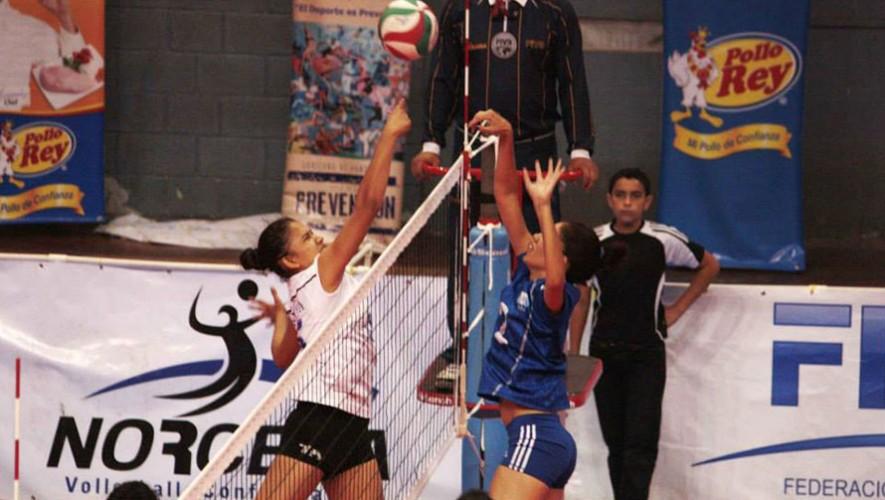 Partido de Guatemala vs Nicaragua, por la Copa Centroamericana de voleibol | Agosto 2016