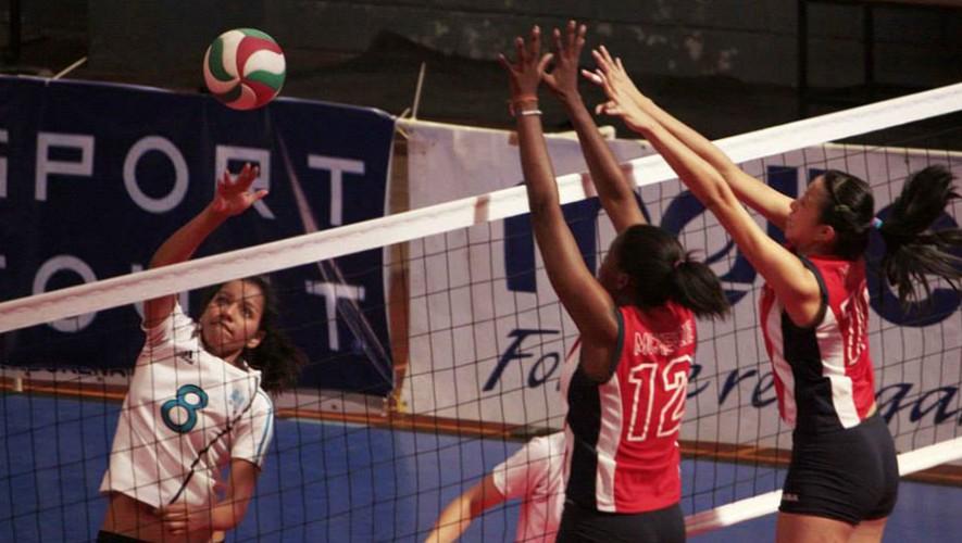 Partido de Guatemala vs Panamá, por la Copa Centroamericana de voleibol   Agosto 2016