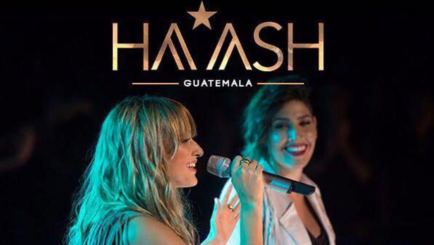 Concierto de Ha-Ash en Guatemala | Septiembre 2016