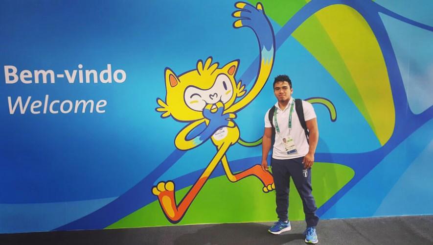 El judoca viajó desde Cuba con su entrenador. (Foto: Comité Olímpico Guatemalteco)