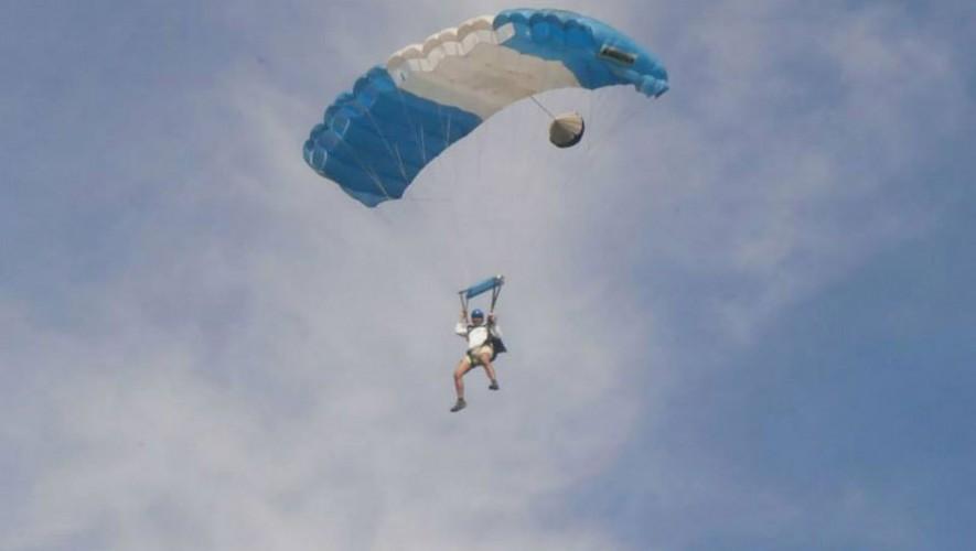Paracaidismo en Guatemala