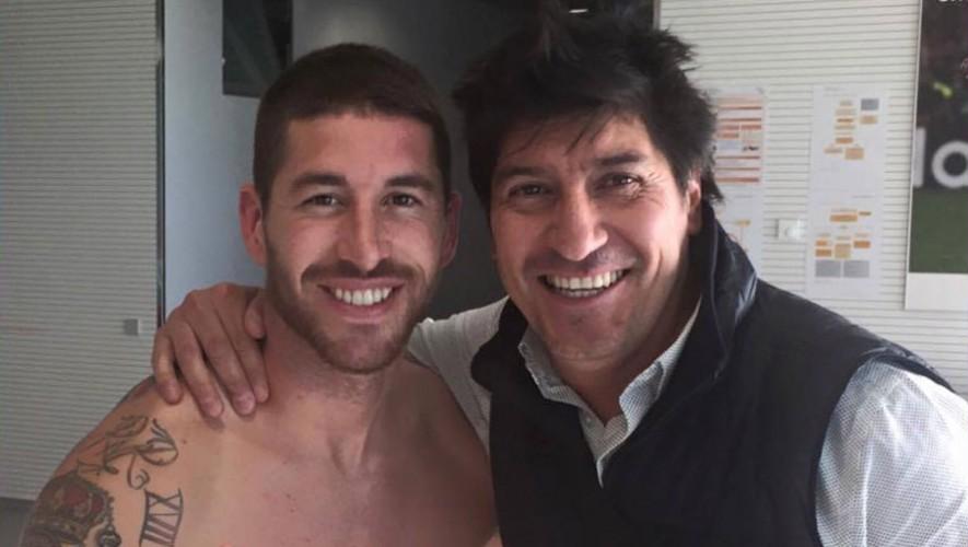Sergio Ramos e Iván Zamorano