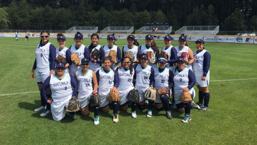 Guatemala sóftbol femenino