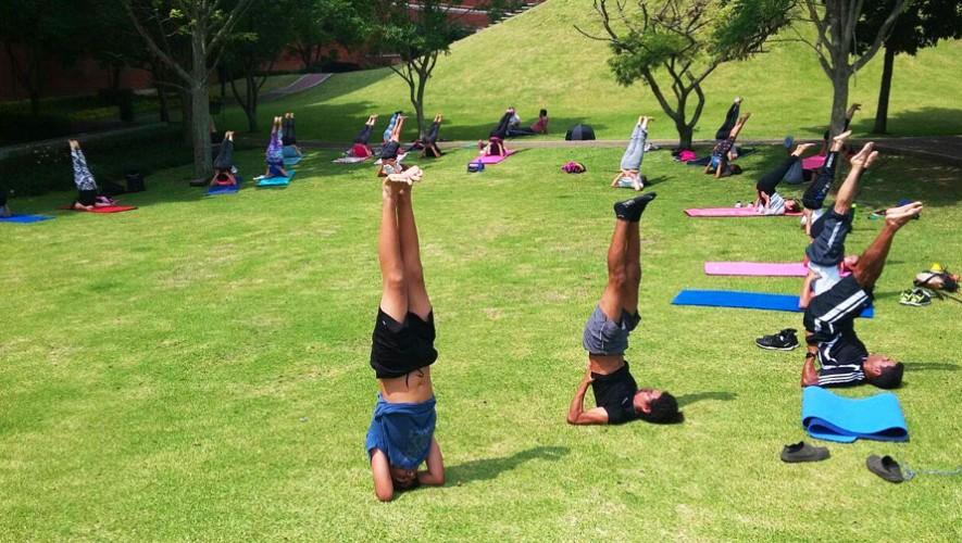 Clase de Yoga al aire libre gratis en Museo Miraflores | Agosto 2016