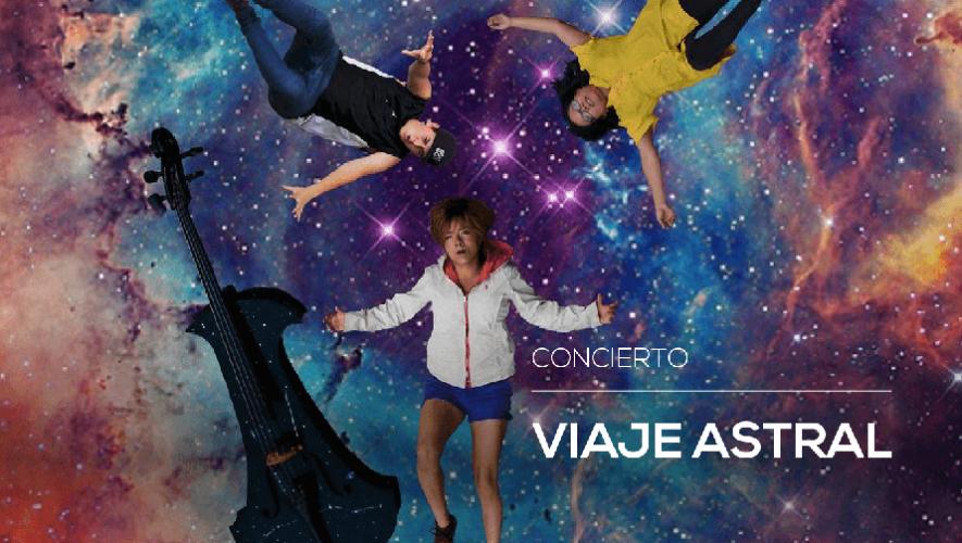 """Concierto """"Viaje Astral"""" Alianza Francesa  Agosto de 2016"""