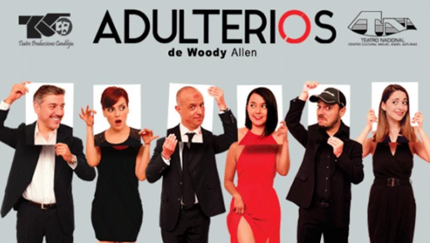 Obra de teatro Adulterios 4 en el Teatro Nacional | Septiembre 2016