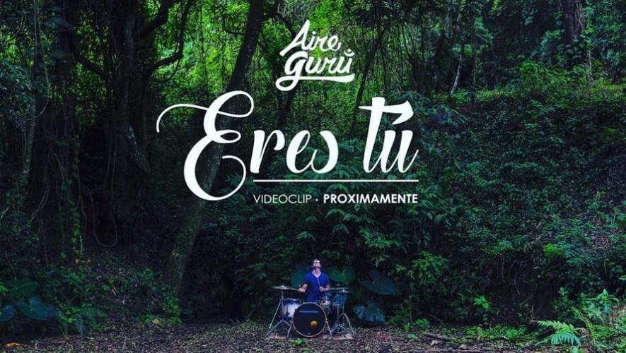 """Lanzamiento de videoclip """"Eres tú"""" de Aire Gurú en Concha & Ostra   Septiembre 2016"""
