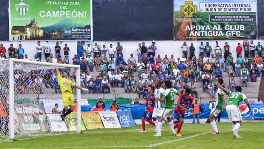 Partido de Antigua vs Malacateco, por el Torneo Apertura | Agosto 2016