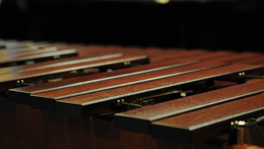 Presentación de marimba, coro y guitarra en Artecentro   Agosto 2016