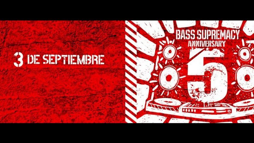 Bass Supremacy fiesta de quinto aniversario | Septiembre 2016