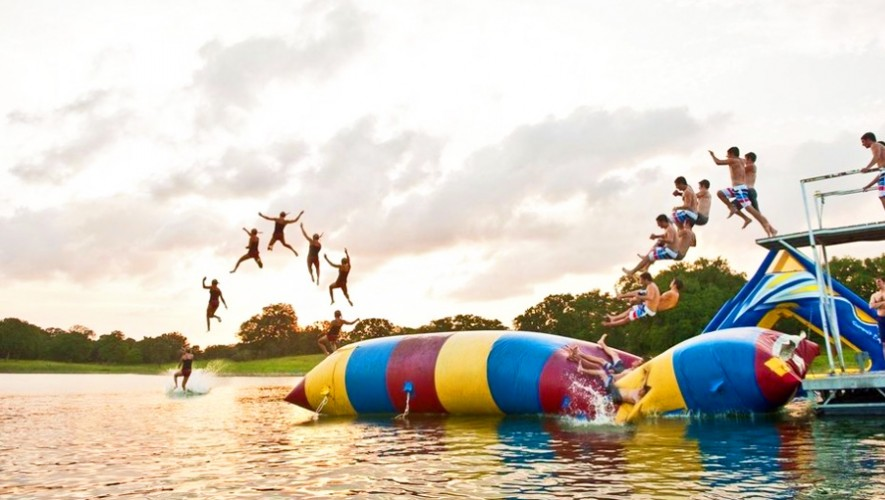 Blob Jump En Guatemala Lanzate Al Agua Con Este Deporte Extremo En