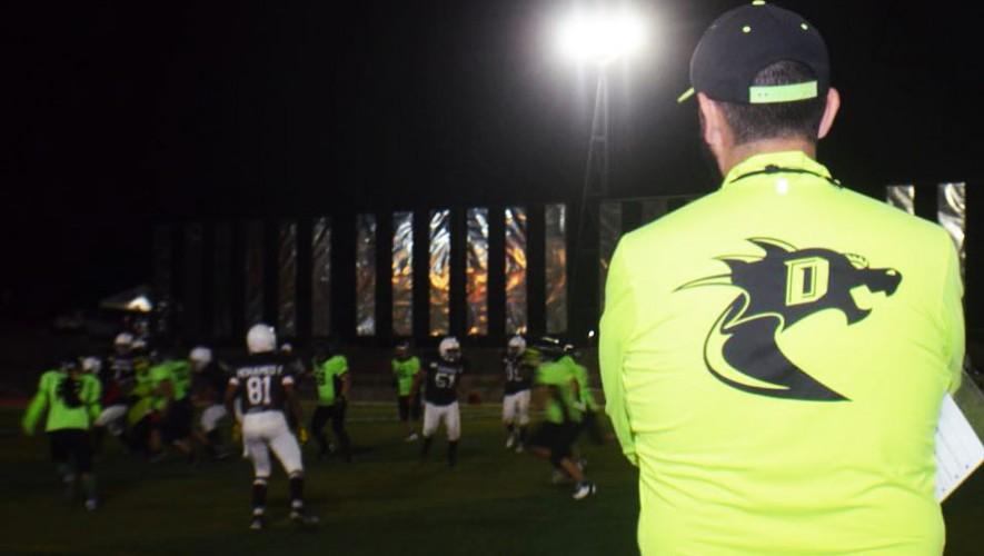 Partido de Bulldogs vs Dragones, por la Liga Nacional de Fútbol Americano   Agosto 2016