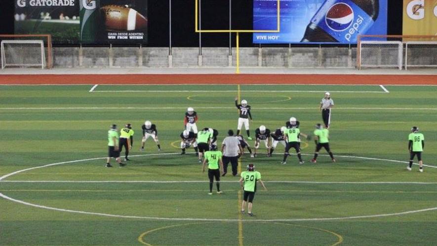 Partido de Bulldogs vs Rhinos, por la Liga Nacional de Fútbol Americano | Agosto 2016