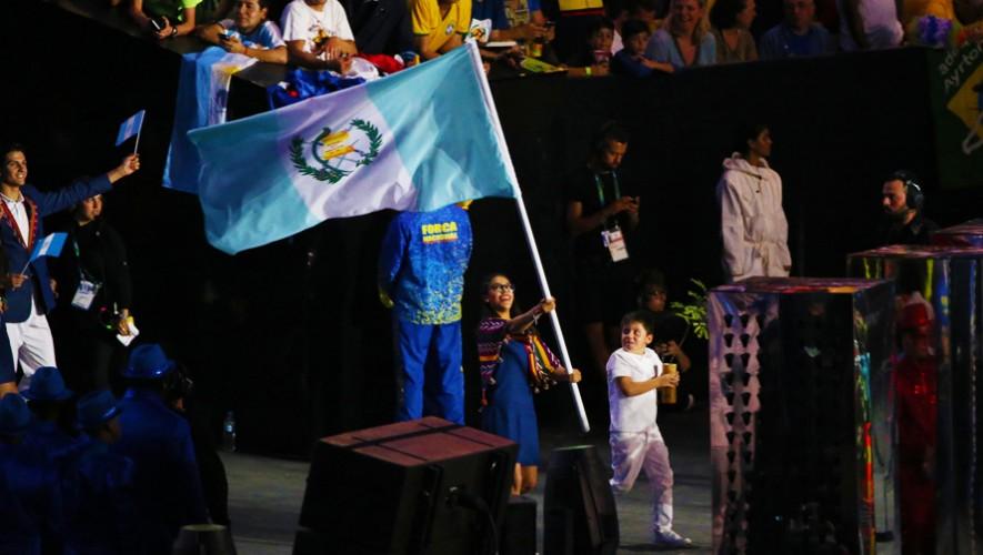 La vestimenta de los guatemaltecos fue elegida como una de los mejores por la revista Vogue Australia. (Foto: Comité Olímpico Guatemalteco)
