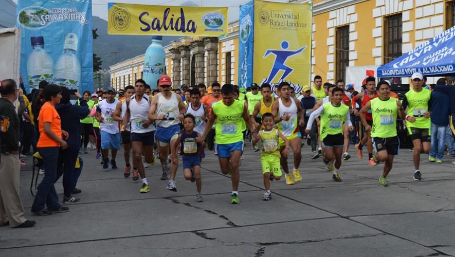 Carrera Landívar 10k en Quetzaltenango | Agosto 2016