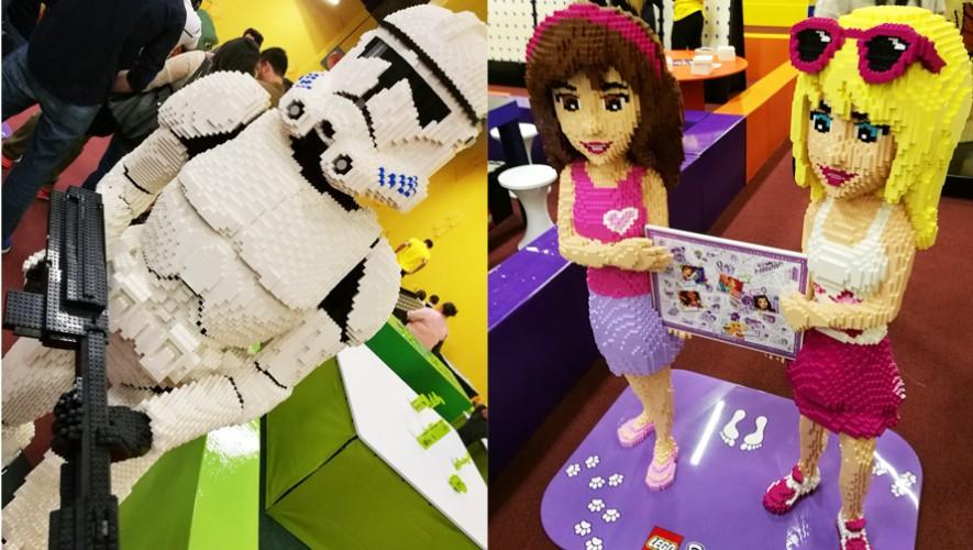 Ya puedes visitar la Ciudad Lego en Oakland Mall. (Foto: Guatemala.com)