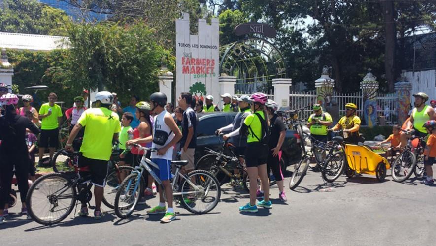 Colazo familiar en bicicleta por Saúl L'Ostería | Agosto 2016