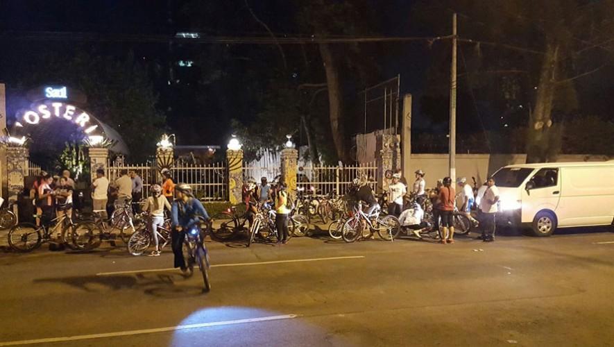 Expocicle: Colazo nocturno en bicicleta | Agosto 2016