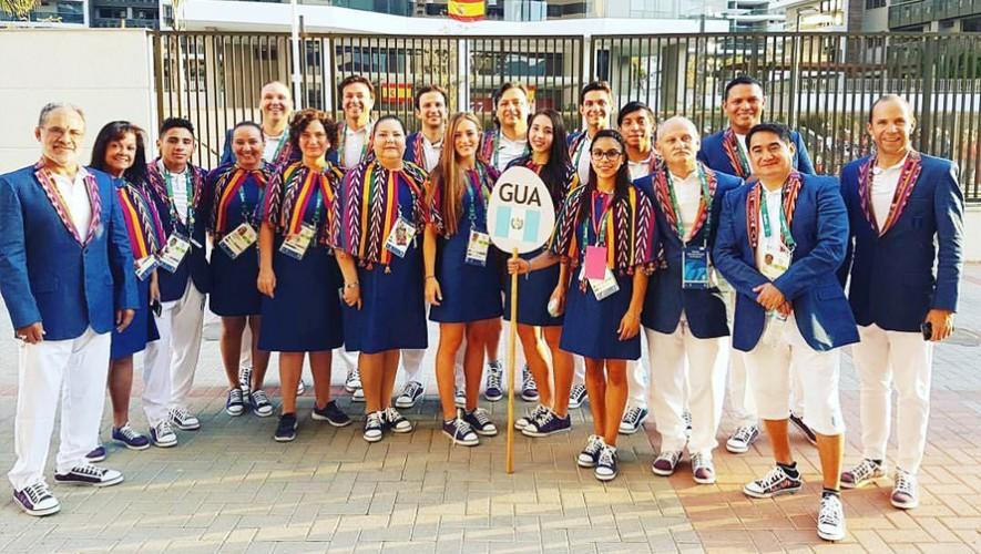 Vestimenta que utilizarán los atletas guatemaltecos en la ceremonia de inauguración de Río 2016. (Foto: Comité Olímpico Guatemalteco)