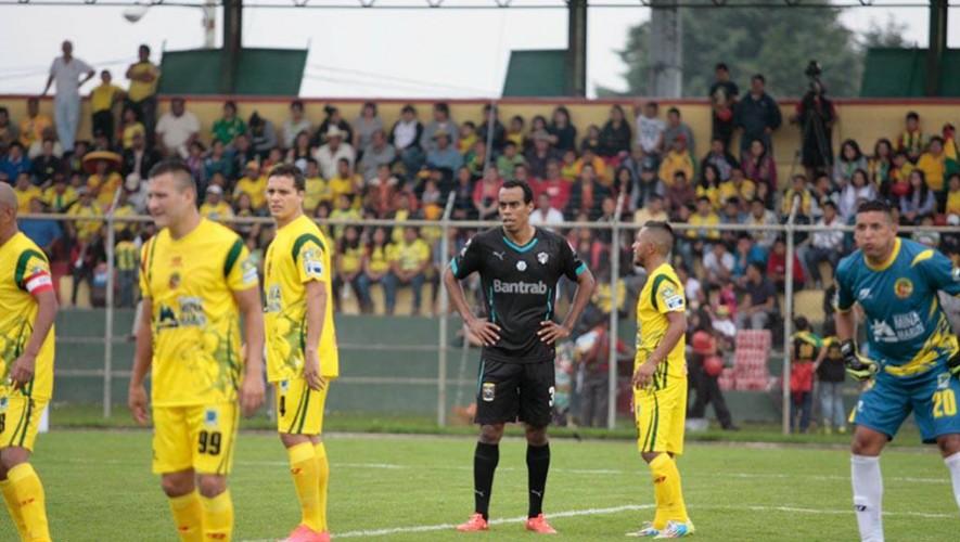 Partido de Comunicaciones vs Marquense, por el Torneo Apertura | Agosto 2016