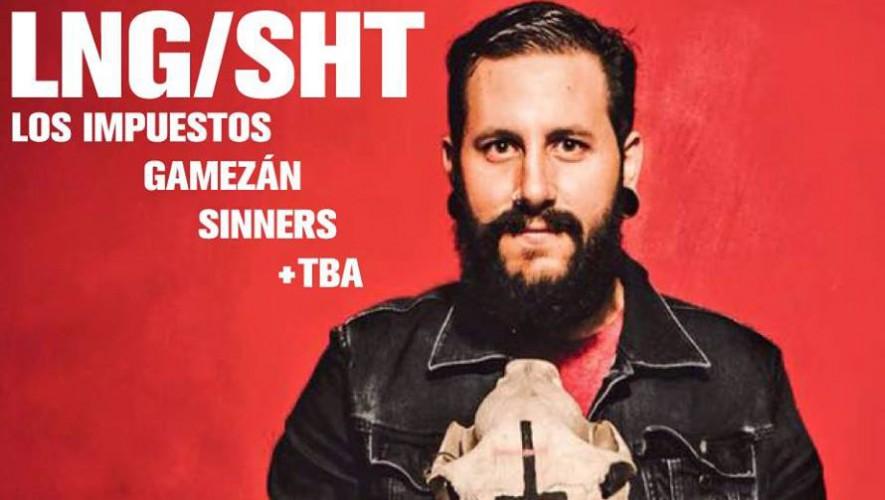 Concierto Lng/Sht, Los Impuestos, Gamezán y Sinners en TrovaRock | Agosto 2016